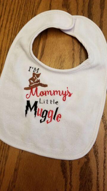 Mummys Little Muggle Baby Bib