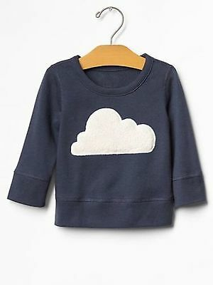 NEW Baby Gap Unisex Navy Blue Double-Breasted knitted Bear Sweater 100/% Cotton