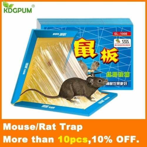 21*30CM Mausefalle Nicht Toxisch Rat Killer Ungezieferkontrolle Ablehnung Maus