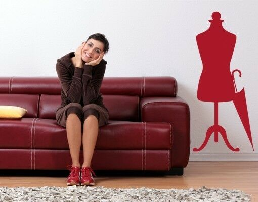 Mannequin 2 - highest quality wall decal stickers