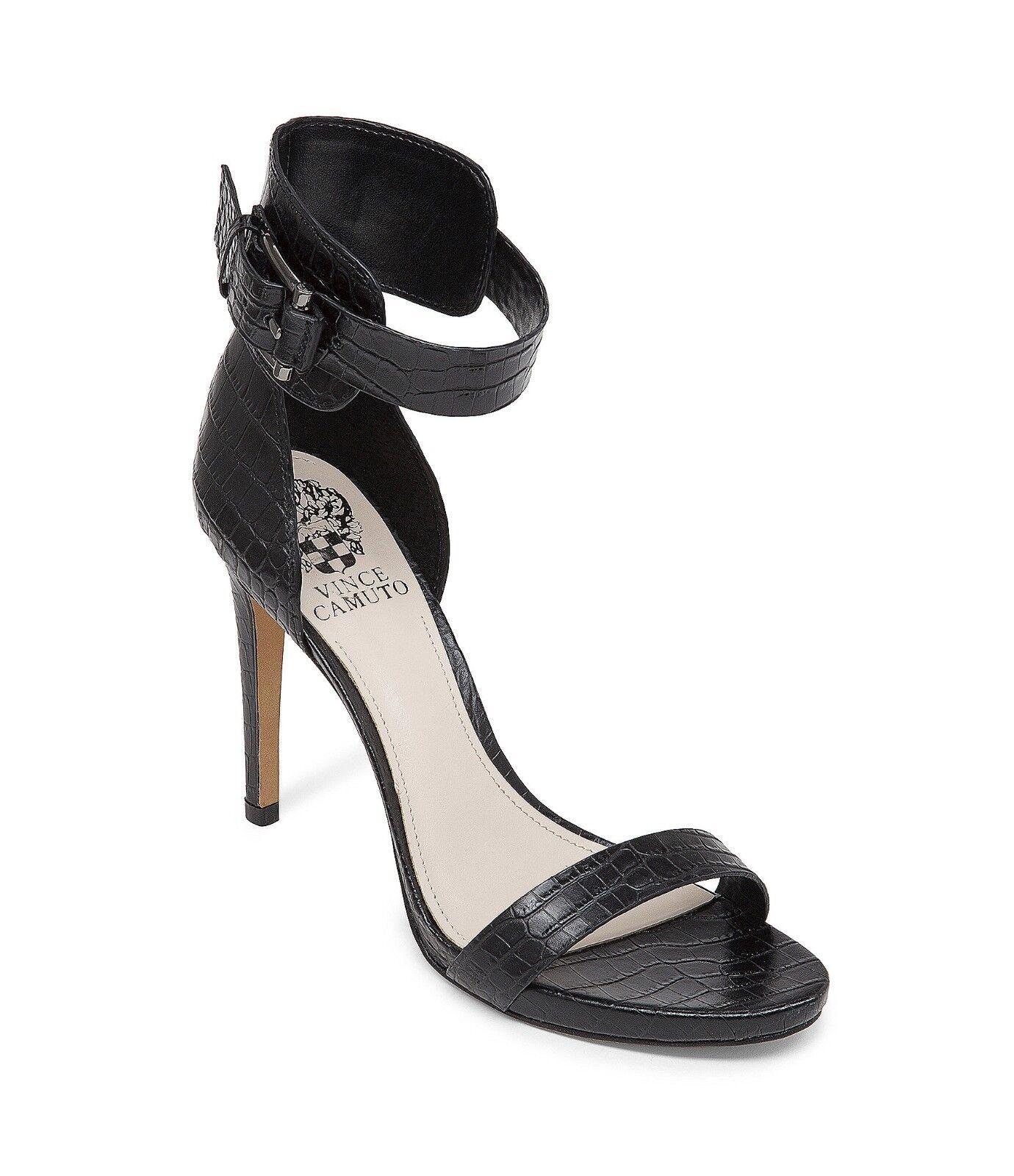edizione limitata a caldo Vince Camuto Farella Dress Sandals donna Dimensiones 6-10 6-10 6-10 nero Smooth Croc VC-FARELLA  alta qualità generale