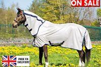 NEW Horseware Amigo Mio Fly Rug Combo With Fixed Neck Horse Rug Bronze & Navy