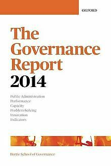 The Governance Report 2014 von The Hertie School Of... | Buch | Zustand sehr gut