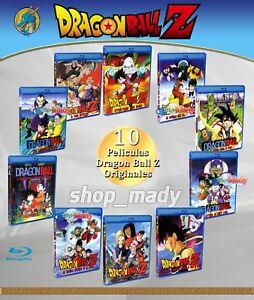 Paquete Especial 10 Movies De Dragon Ball Z Blu Ray En Español Latino 7506036087259 Ebay