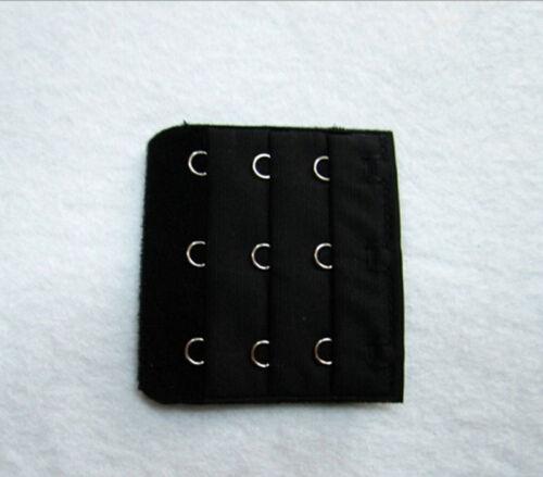 1//5//10pcs UPICK Bra Extender Strap Extension 3 Hooks Supplies Deluxe JX