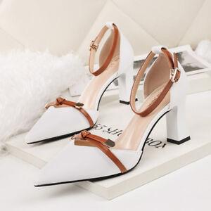 Decolte Donna Quadrato Scarpe Tacco Bianco Cm Eleganti 5 Beige 7gyvIYb6f