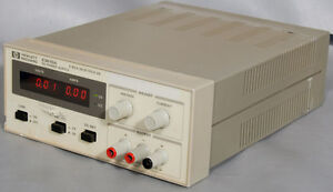 hp agilent e3610a benchtop dual range dc power supply 30w 8v 15v 3a rh ebay com HP Owner Manuals Customer Service Books