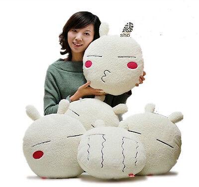 cute Tuzki rabbit plush cushion holding pillow 5 expressions birthday gift 1pc