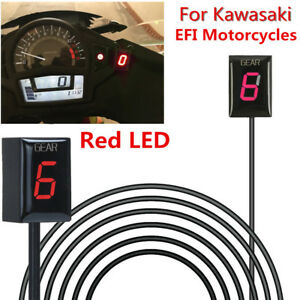 Motorcycle Gear Indicator Red Led For Kawasaki Efi Ninja 300 650