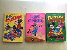 lotto 3 fumetti i classici di walt disney 1^ serie N° 40 - 45 - 50 mondadori