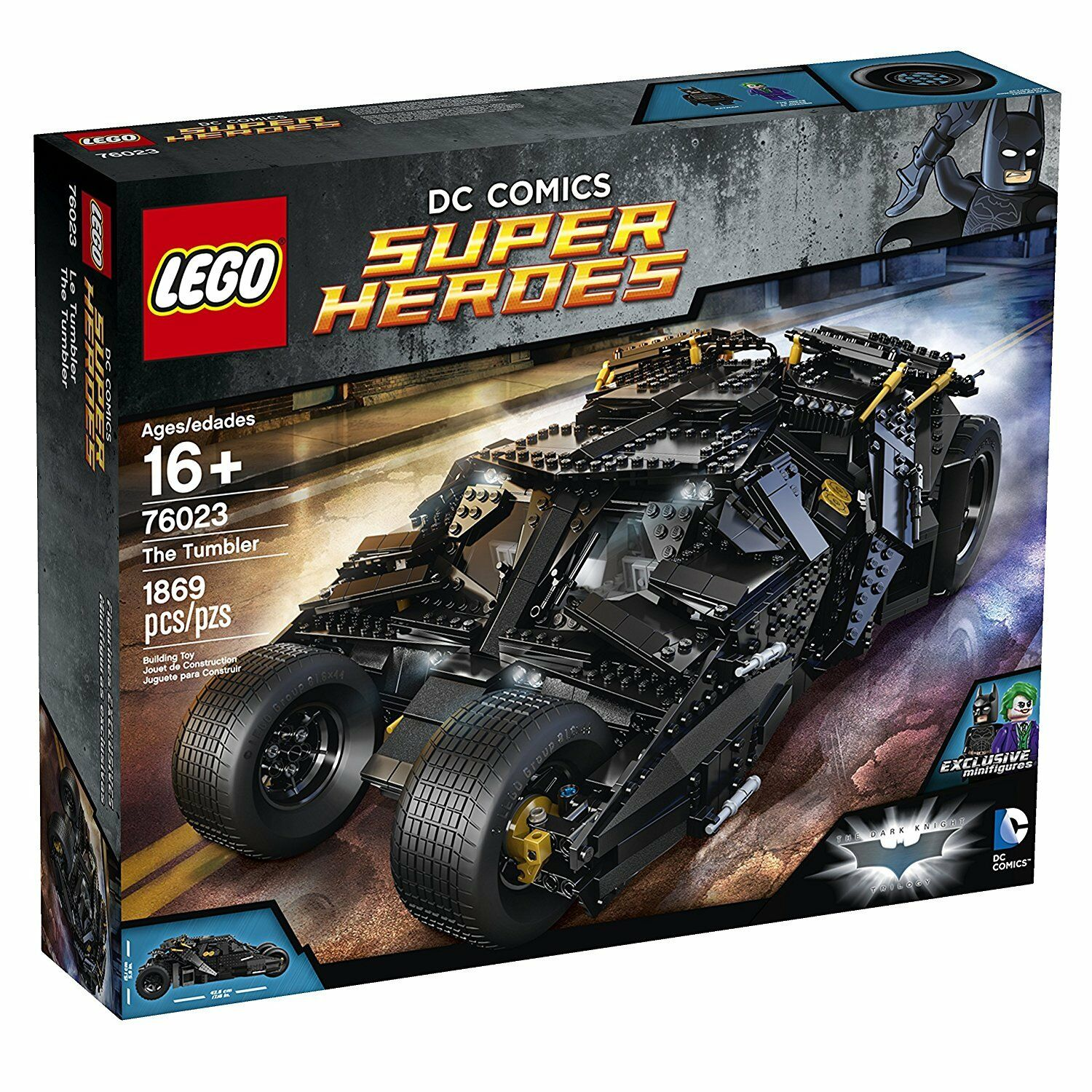 LEGO ®  76023 DC Super Heros Psychological NUOVO E OVP nuovo SEALED  Spedizione gratuita al 100%
