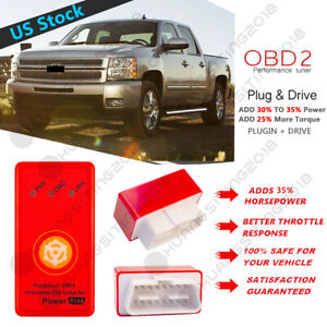 High-Performance Tuner Chip and Power Tuning Programmer Boost Horsepower and Torque Fits GMC Sierra 2500