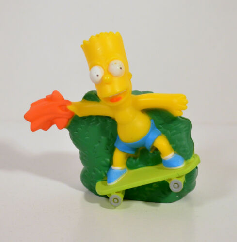 "2007 Bart Simpson 3/"" Burger King Movie Action Figure Simpsons"