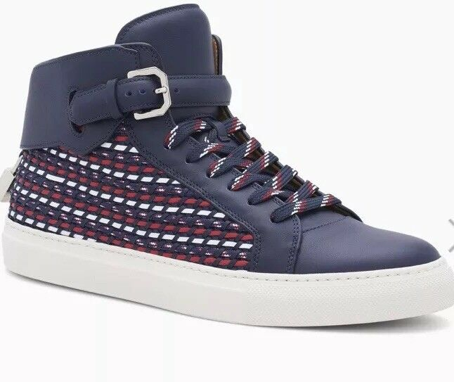 BUSCEMI Homme 100 mm High Top paniers tissage Oceano RTL 1,495  . EntièreHommest NEUF dans sa boîte.