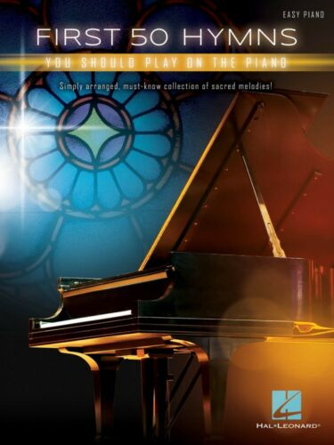 First 50 Hymns You Should Play on Piano Sheet Music Easy Piano Book 000275199