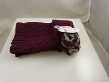 over the knee socks or boot cuff small sock that goes over the knee burgandy