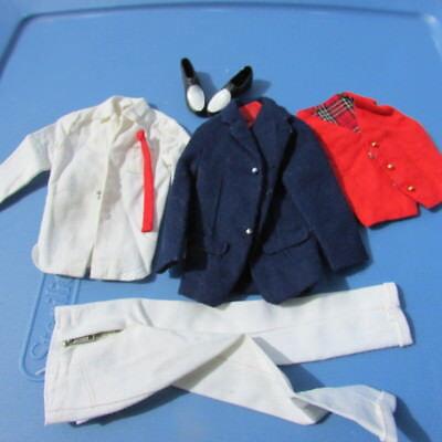 Vintage Ken Doll Clothing Victory Dance 1411 Original 1964 Outfit Mattel Barbie Ebay