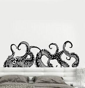 Vinyl-Wall-Decal-Tentacles-Octopus-Kraken-Marine-Monster-Stickers-ig4299