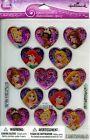 "Disney Hallmark ""PRINCESS"" Epoxy Scrapbooking Stickers x (2 sheets) - D54"