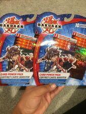 Bakugan Pyrus 10 Card Power Pack New Collectible Play Set