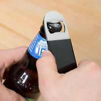 Flat Bottle Opener - Choose Black, Blue Or Red