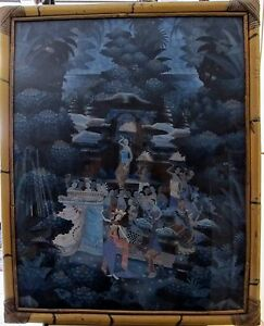Asian Antiques Ny Reta Sayan Paume Clearance Price Other Asian Antiques Temperate Dipinto Balinese