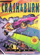 Epic Pinball: Crash and Burn (DOS, 1993, Epic Games)