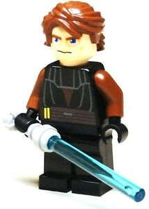 LEGO Star Wars ANAKIN Minifigure With light Saber Sword ...