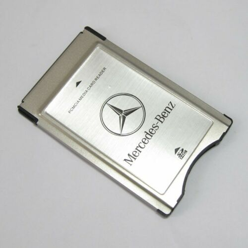 NEW Genuine Original PCMCIA TO SD PC CARD ADAPTER Supoort SDHC for Mercedes-Benz