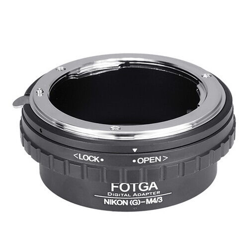 FOTGA Adapter Ring Nikon G AF S Mount lens to Micro4/3 Olympus Camera