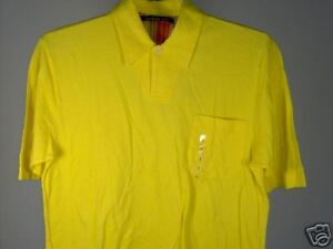 Best-Northern-Isles-Polo-Shirt-Yellow-Size-Large-L-Men-New-NWT