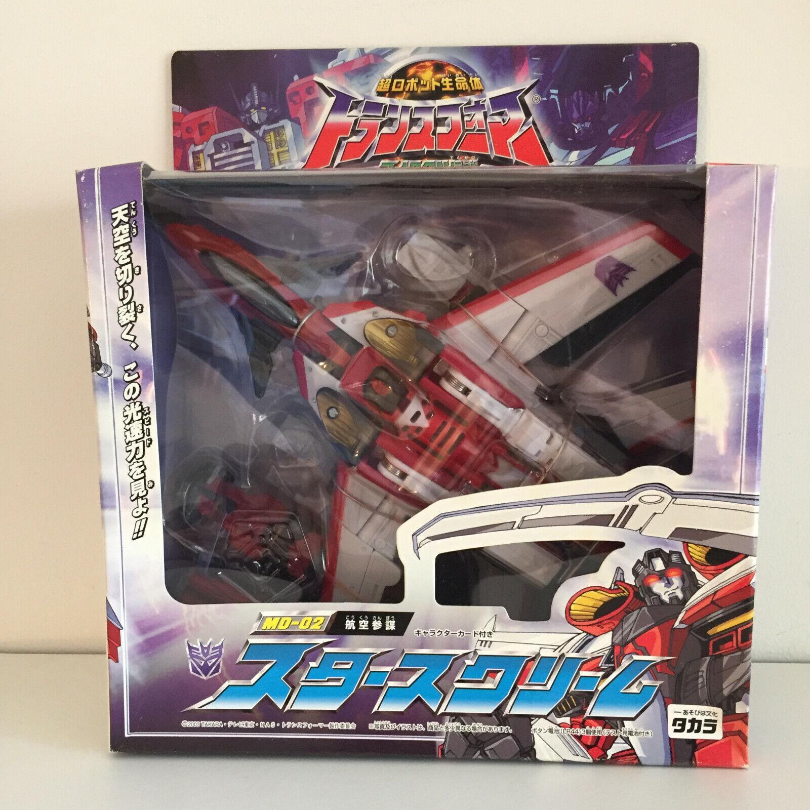 Takara Transformers Micron Legend MD-02 Starscream