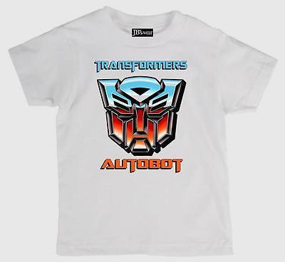 Children/'s Tee Shirt  featuring TRANSFORMERS Autobot logo quality  Kids T Shirt
