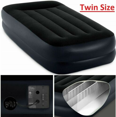 Air bed Inflatable Air Mattress Blow Up Bed Twin Size With Electric Pump Camping