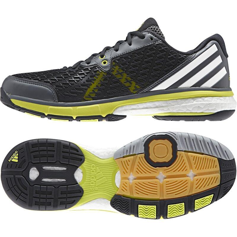 Details zu adidas Herren Blau Gelb Energy Boost 3 Tennisschuhe Sport Schuhe Turnschuhe