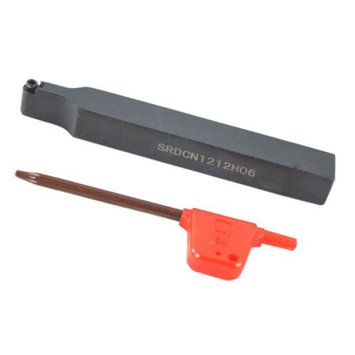 lathe External Turning Tool Holder For RPMT0602MO insert SRDCN1212H06 12mm*100mm