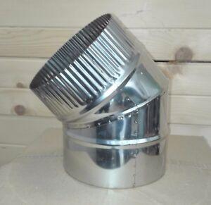 Stainless Steel Chimney Flue Liner Bend 90 45 Degree Elbow