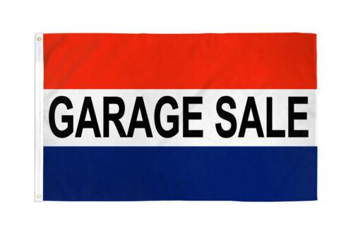 Garage Sale Flag 3x5ft Garage Sale Banner Sign Rummage Sale Yard Sale Flag