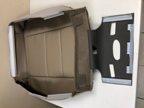 2005 2006 07 Ford F250 F350 Lariat Extended Cab-Passenger Bottom Seat Cover-Tan