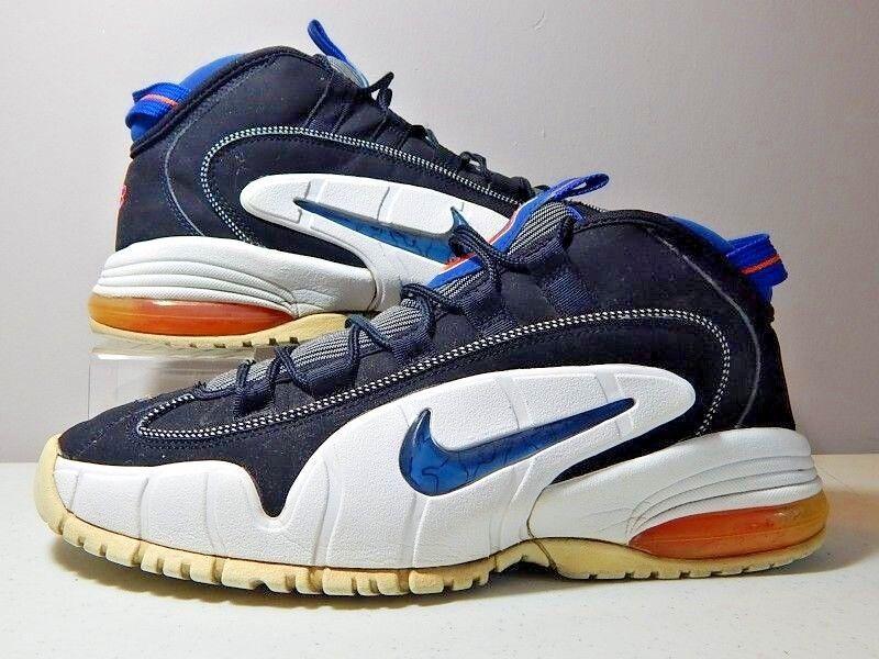 Nike Shoes - 2018 Penny 1 I New York Knicks - Black Blue Orange - Comfortable Seasonal clearance sale