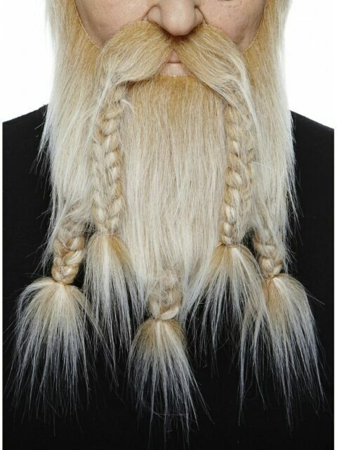 White Viking 00065 2x Hair Old