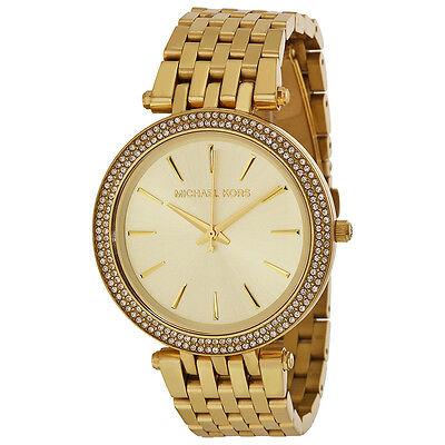 Michael Kors Darci Glitz Pave Bezel Ladies Watch MK3191