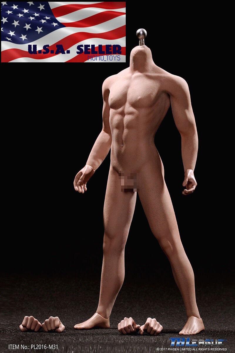 1/6 TBLeague PHICEN M31 Seamless Male Narrow Shoulder Muscular Body ❶USA SELLER❶