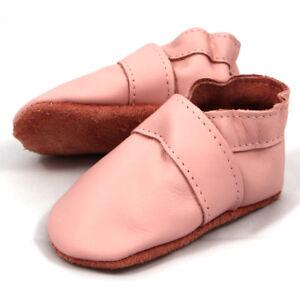 18-23 Neu Kenntnisreich Jacob's Uni Rosa Baby Hausschuhe Lederpuschen Krabbelschuhe Rabatte Verkauf