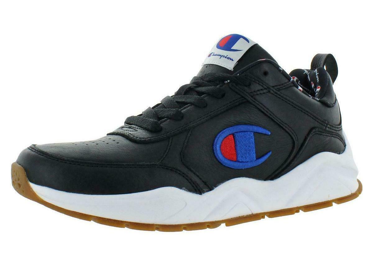 Nuevo Para hombres CHAMPION 93 dieciocho Correr Informales Zapatos - 12 46.7 euros-Negro