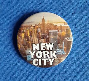 NYC Grand Central Station-insignia De Botones Grandes-DIÁMETRO 58mm