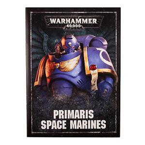 LIBRO-DELLE-REGOLE-Primaris-SPACE-MARINES-SCURO-EMPIRE-INGLESE-WARHAMMER-40K