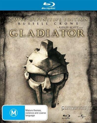 1 of 1 - Gladiator (Blu-ray, 2009, 2-Disc Set)