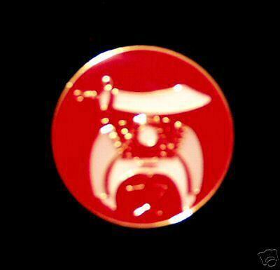 Freemason Lapel Tie Hat Pin Shriner Emblem #Y2XB