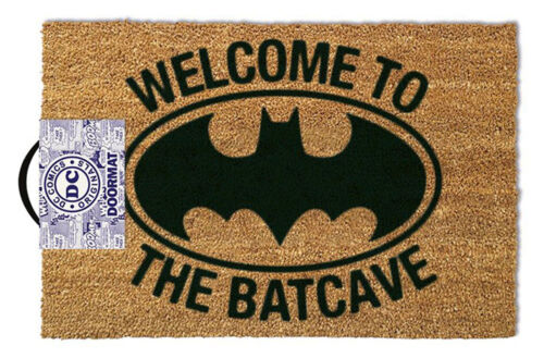 Batman Batcave - Fußmatte, Größe: 60 x 40 cm, Material Kokosfaser, Türmatte